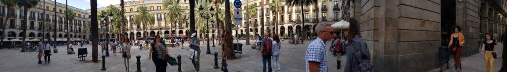 Plaza in Barcelona off La Rambla